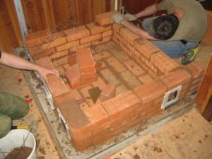 12 Отопительная печь с транзитной хлебной камерой