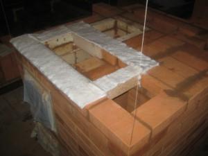 Подложка под плиту из мягкого негорючего теплоизолятора, 012