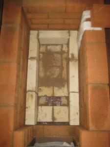 Шамотные стенки топливника, 008