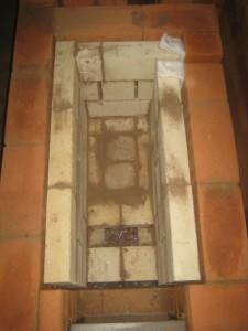 Шамотные стенки топливника, 009