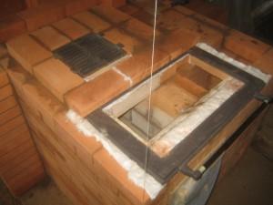 Устройство пода хлебной камеры и примерка колосника, 014
